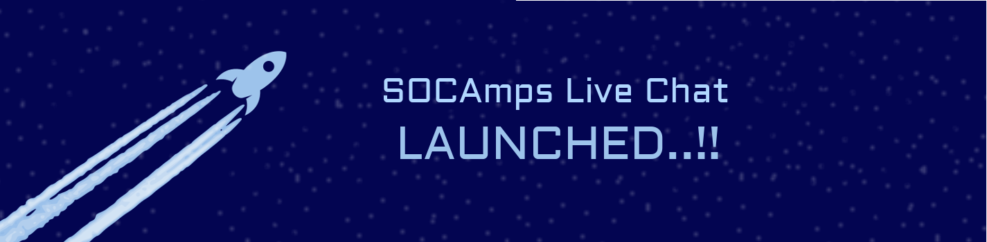 SOCAmps Live Chat Launched